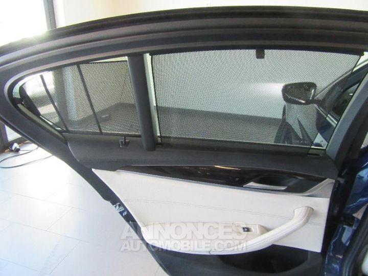 BMW Série 5 520dA xDrive 190ch Luxury Mediterranblau metallise Occasion - 12