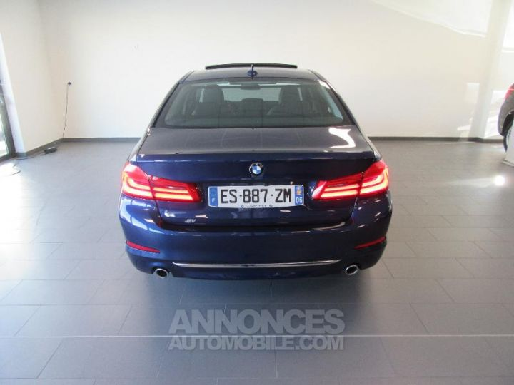 BMW Série 5 520dA xDrive 190ch Luxury Mediterranblau metallise Occasion - 16