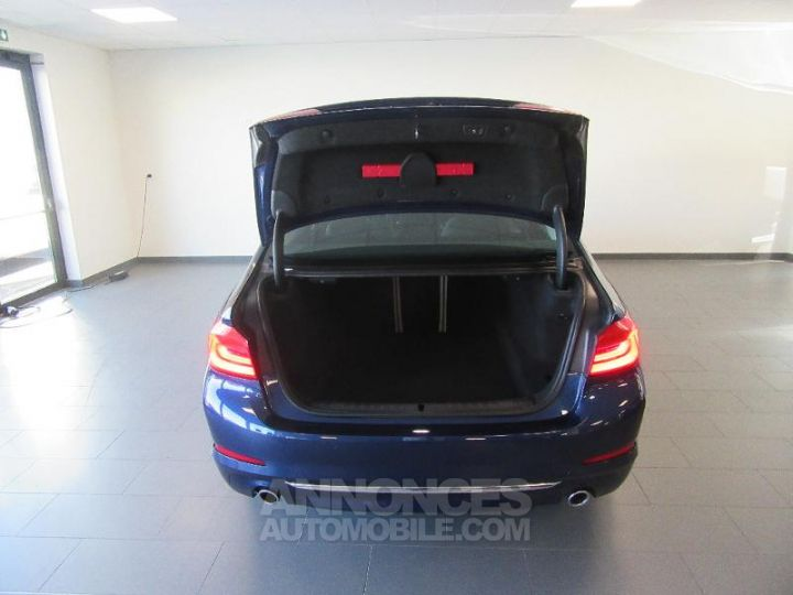 BMW Série 5 520dA xDrive 190ch Luxury Mediterranblau metallise Occasion - 17