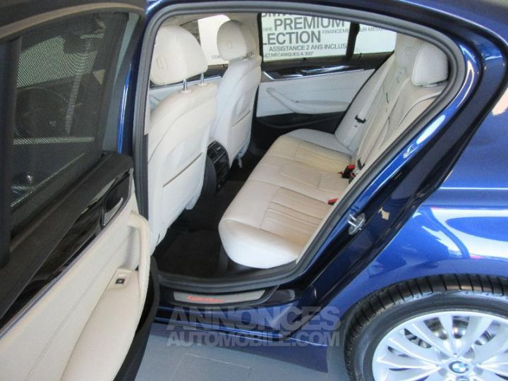 BMW Série 5 520dA xDrive 190ch Luxury Mediterranblau metallise Occasion - 18