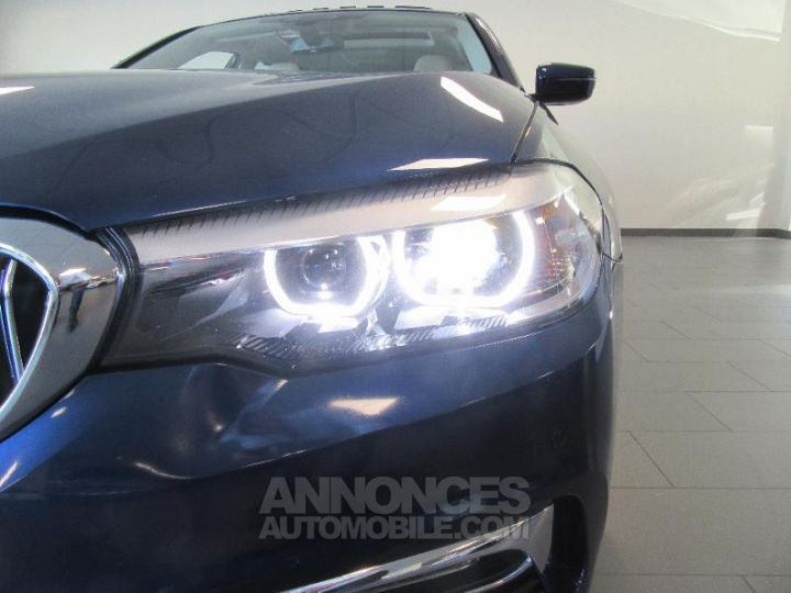 BMW Série 5 520dA xDrive 190ch Luxury Mediterranblau metallise Occasion - 19