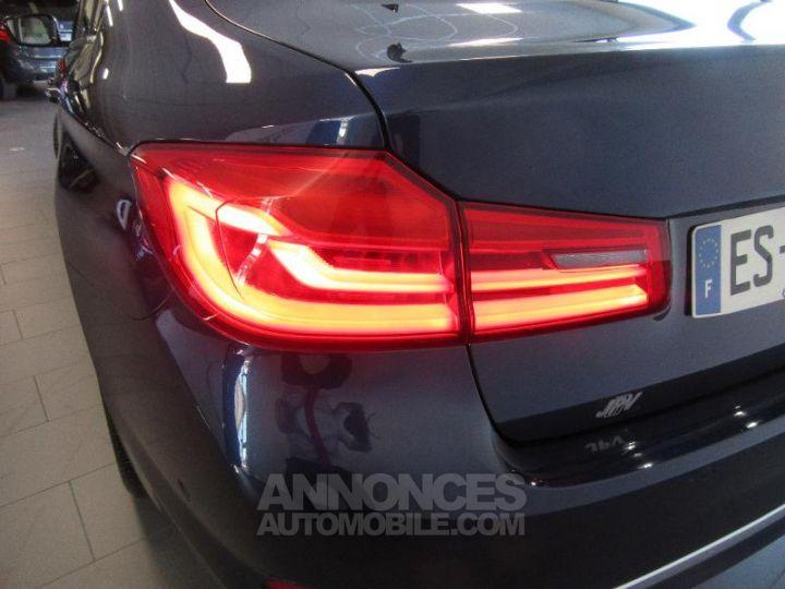 BMW Série 5 520dA xDrive 190ch Luxury Mediterranblau metallise Occasion - 20