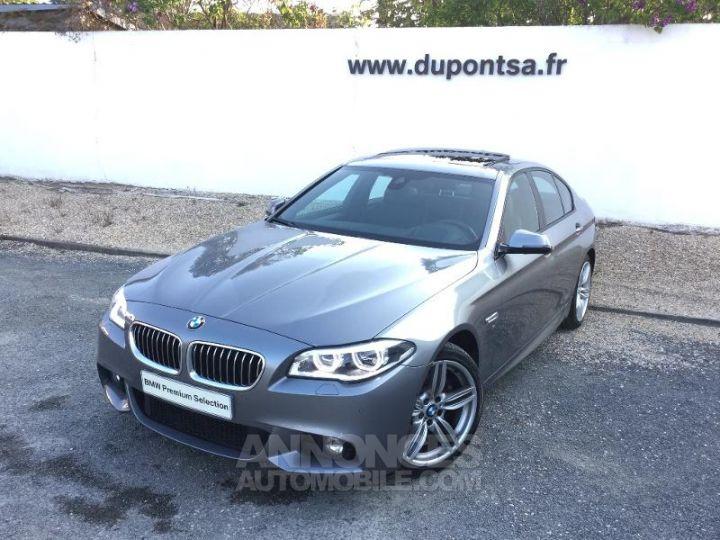 BMW Série 5 520dA xDrive 190ch M Sport GRIS Occasion - 1