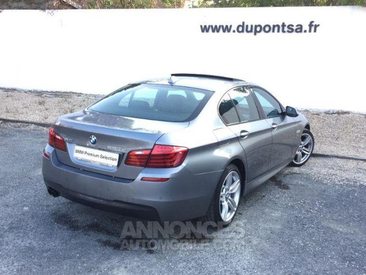BMW Série 5 520dA xDrive 190ch M Sport GRIS Occasion - 2