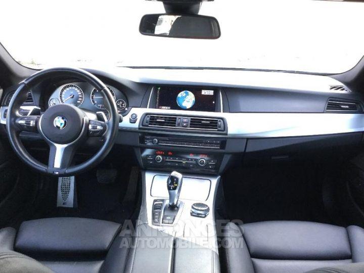 BMW Série 5 520dA xDrive 190ch M Sport GRIS Occasion - 4