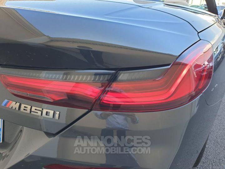 BMW Série 8 M850iA xDrive 530ch Dravit Grey Occasion - 20