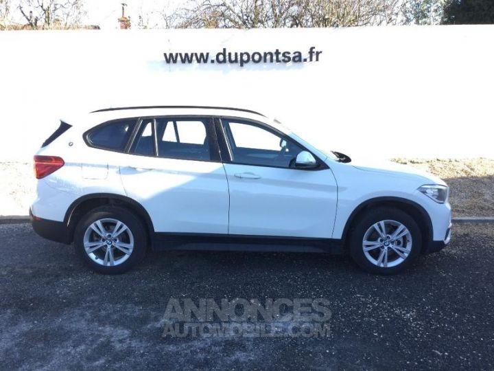 BMW X1 sDrive16d 116ch Lounge BLANC Occasion - 9