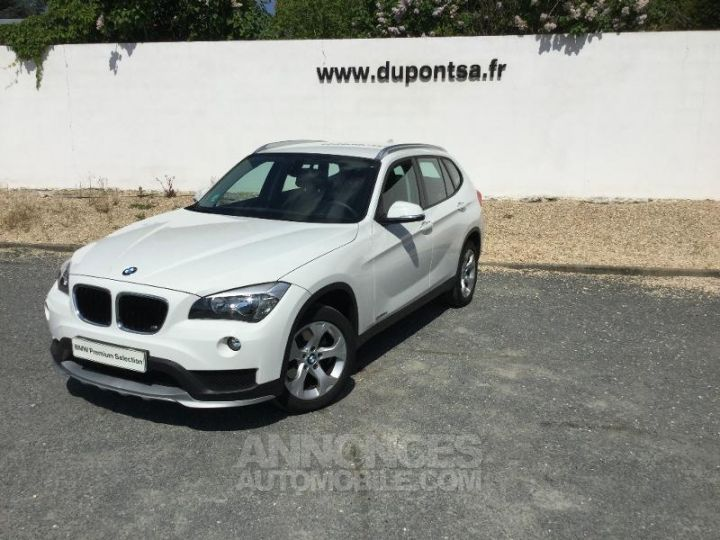 BMW X1 sDrive16d 116ch Lounge START Edition BLANC Occasion - 1