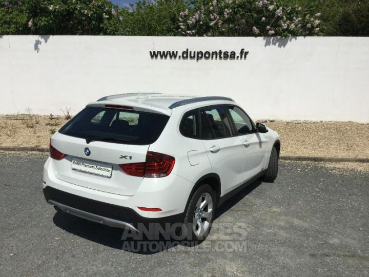 BMW X1 sDrive16d 116ch Lounge START Edition BLANC Occasion - 2
