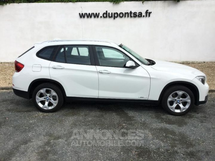 BMW X1 sDrive16d 116ch Lounge START Edition BLANC Occasion - 7