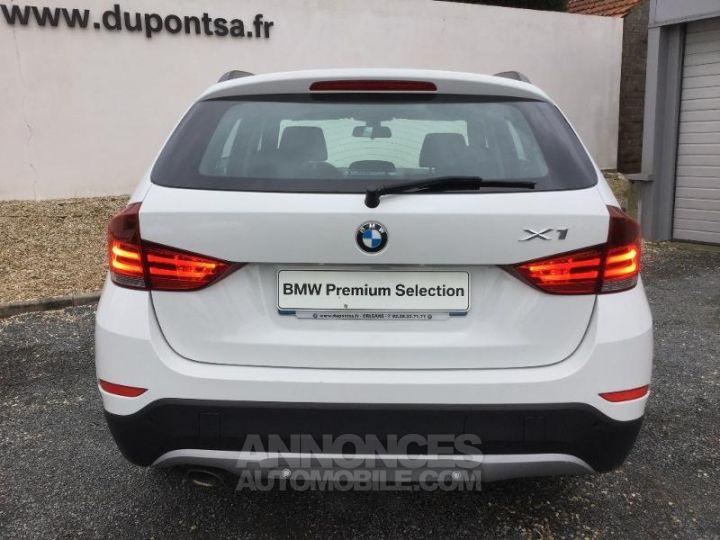 BMW X1 sDrive16dA 116ch Lounge BLANC Occasion - 7