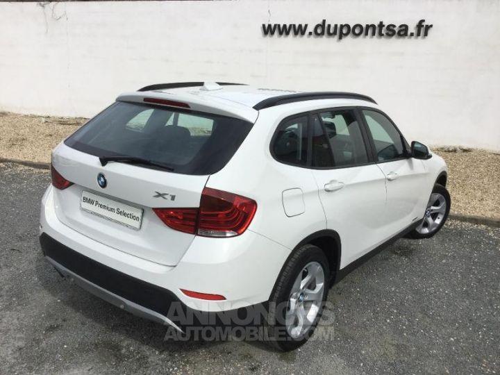 BMW X1 sDrive16dA 116ch Lounge Blanc Occasion - 2