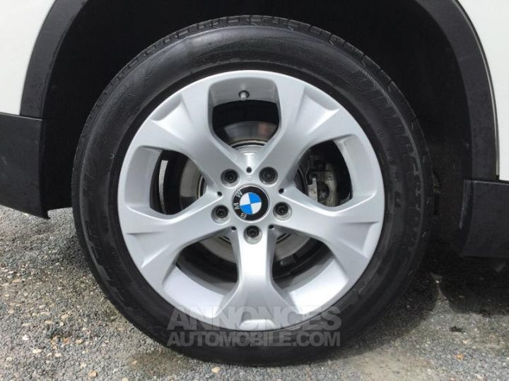 BMW X1 sDrive16dA 116ch Lounge Blanc Occasion - 6