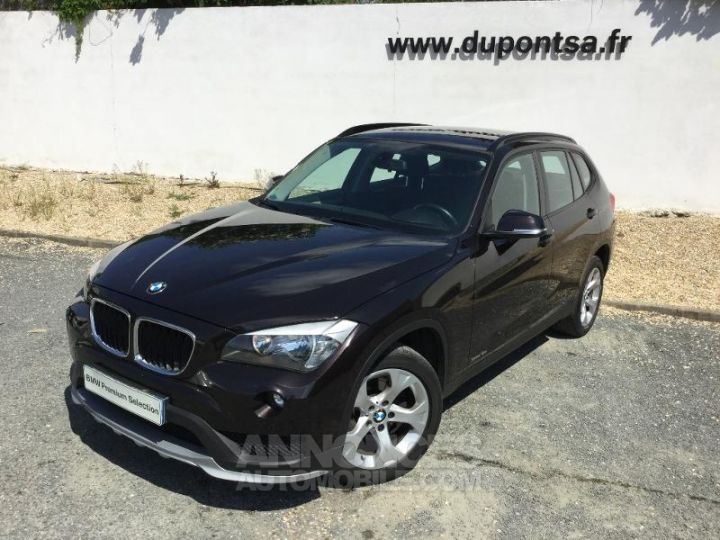 BMW X1 sDrive18d 143ch Lounge MARRON Occasion - 1