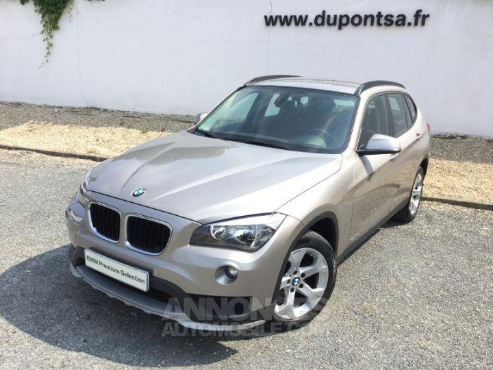 BMW X1 sDrive18dA 143ch Lounge GRIS Occasion - 1