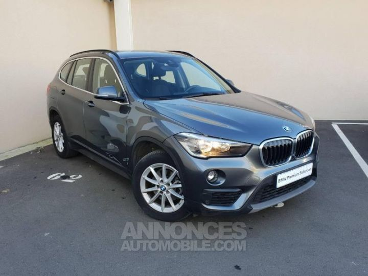BMW X1 sDrive18dA 150ch Business Mineralgrau Occasion - 1
