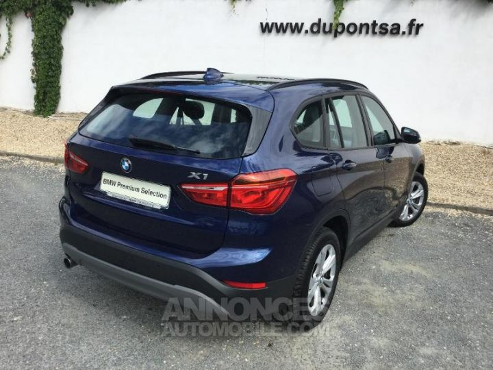 BMW X1 sDrive18dA 150ch Lounge BLEU F Occasion - 2