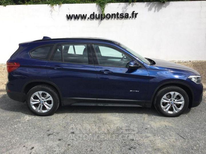 BMW X1 sDrive18dA 150ch Lounge BLEU F Occasion - 9