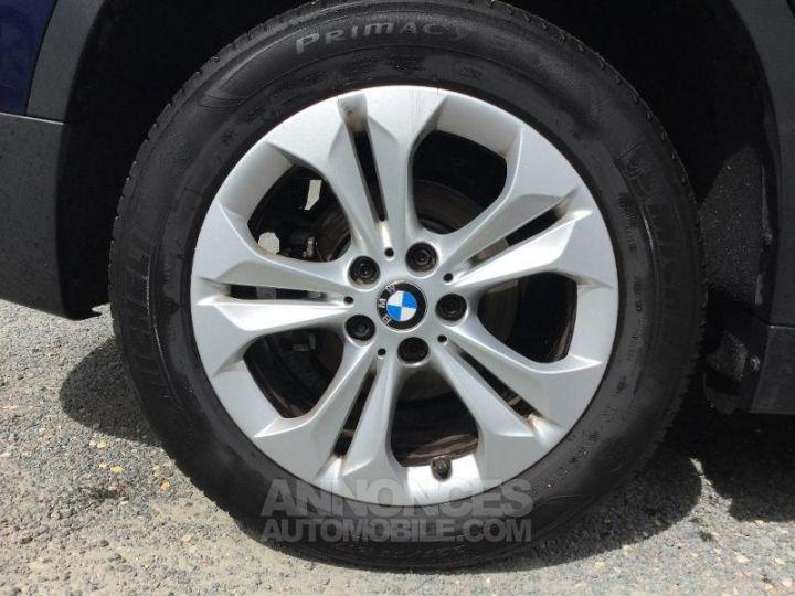 BMW X1 sDrive18dA 150ch Lounge BLEU F Occasion - 11
