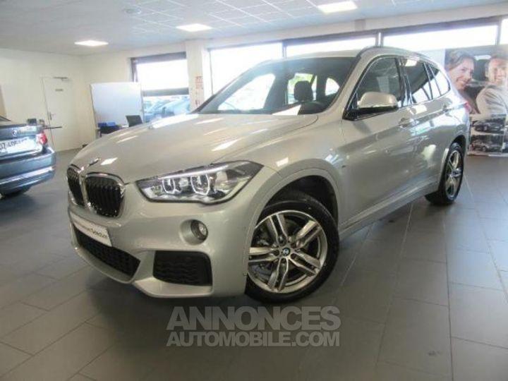 BMW X1 sDrive18dA 150ch M Sport titansilber Occasion - 1