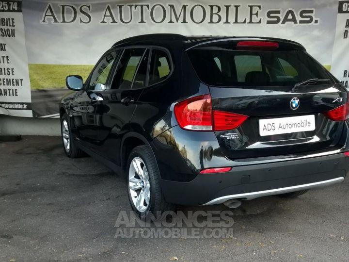 BMW X1 XDRIVE 18D 143 CH Confort Noir Occasion - 9