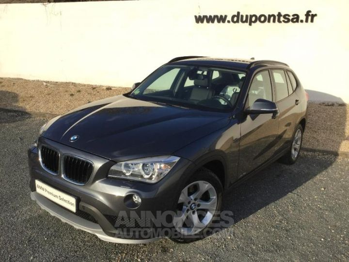 BMW X1 xDrive18d 143ch Lounge Plus GRIS Occasion - 1
