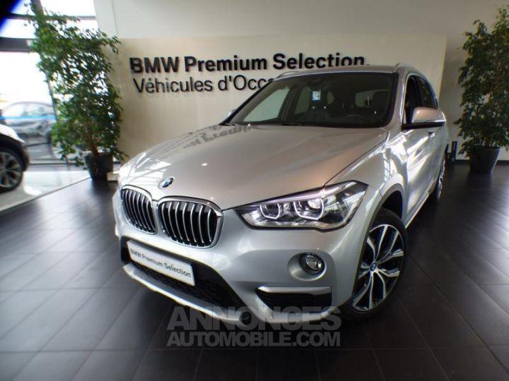 BMW X1 xDrive18dA 150ch xLine Euro6d-T Glaciersilber metallise Occasion - 1