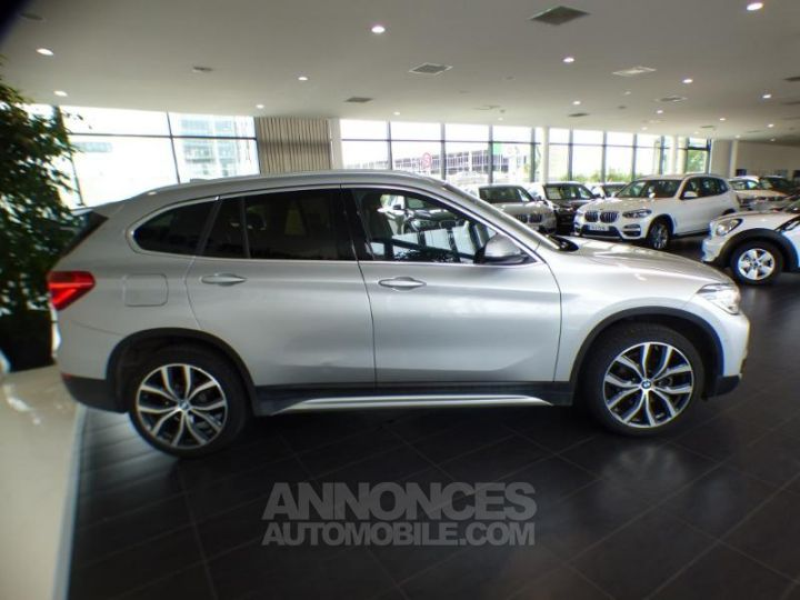 BMW X1 xDrive18dA 150ch xLine Euro6d-T Glaciersilber metallise Occasion - 4
