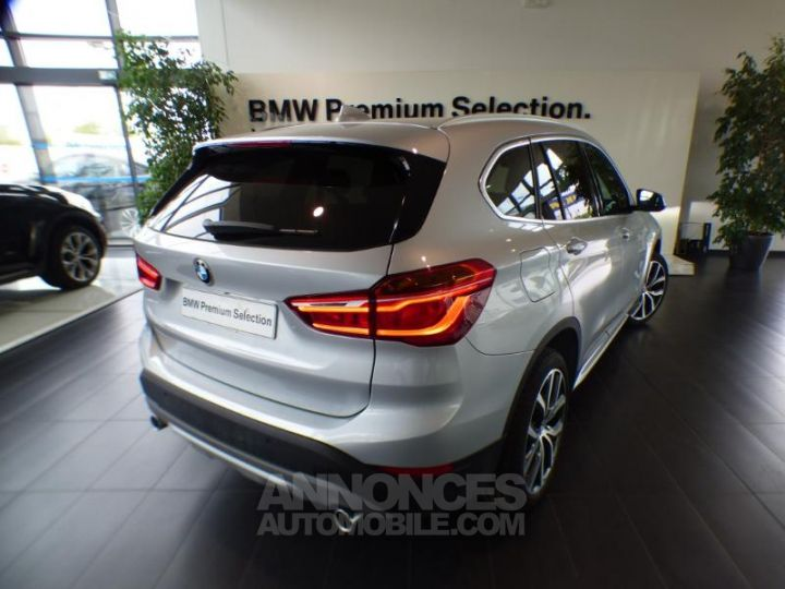 BMW X1 xDrive18dA 150ch xLine Euro6d-T Glaciersilber metallise Occasion - 6