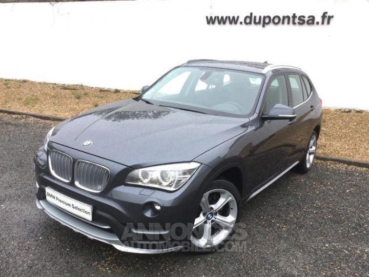 BMW X1 xDrive20d 184ch xLine GRIS C Occasion - 1