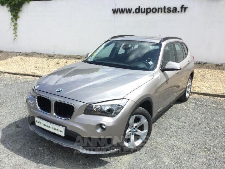 BMW X1 xDrive20dA 184ch Lounge Plus GRIS C Occasion - 1