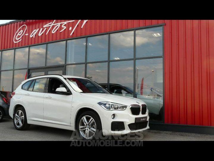 BMW X1 xDrive20dA 190ch M Sport Euro6c BLANC Occasion - 1