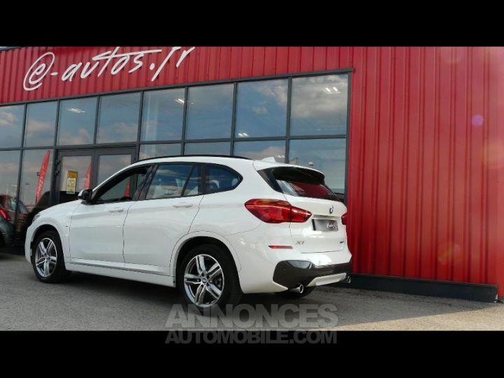BMW X1 xDrive20dA 190ch M Sport Euro6c BLANC Occasion - 2