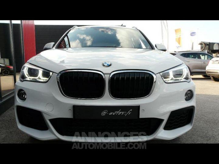 BMW X1 xDrive20dA 190ch M Sport Euro6c BLANC Occasion - 3