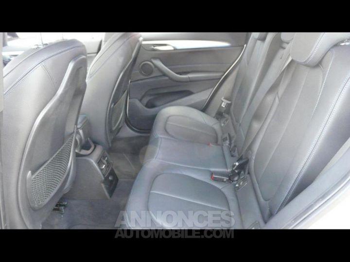 BMW X1 xDrive20dA 190ch M Sport Euro6c BLANC Occasion - 7