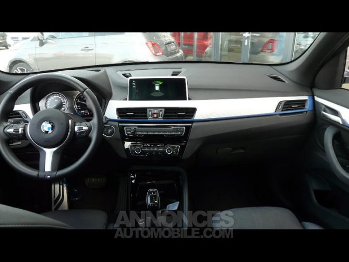BMW X1 xDrive20dA 190ch M Sport Euro6c BLANC Occasion - 8