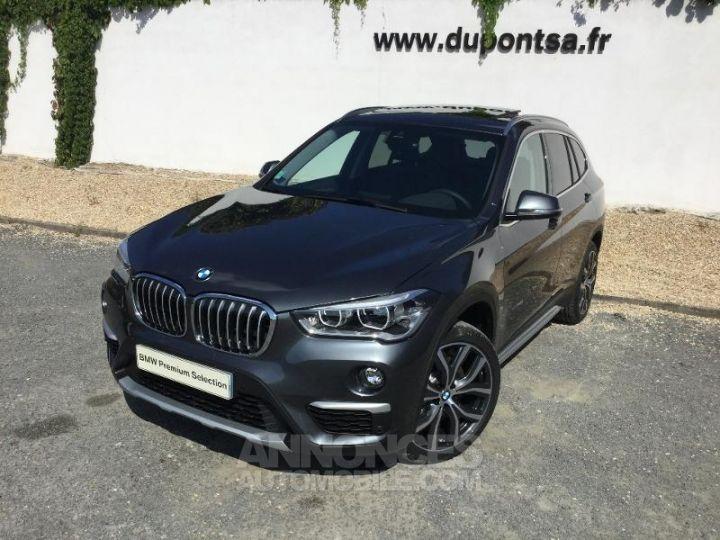 BMW X1 xDrive20dA 190ch xLine Mineralgrau métallisée Occasion - 1