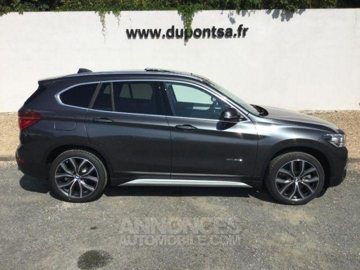 BMW X1 xDrive20dA 190ch xLine Mineralgrau métallisée Occasion - 11