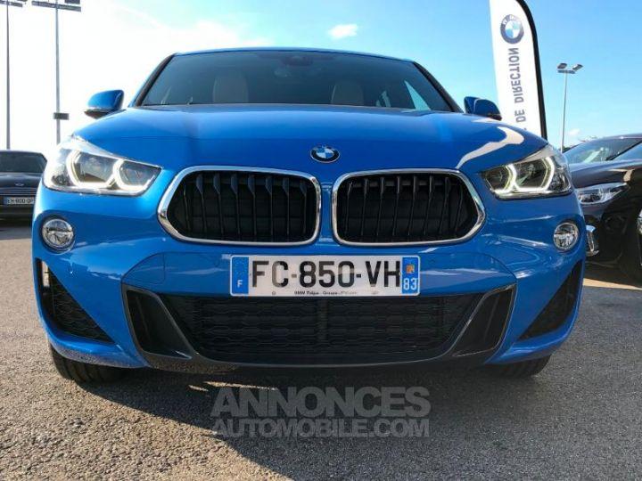 BMW X2 xDrive20dA 190ch M Sport Misano Blau metallise Occasion - 2