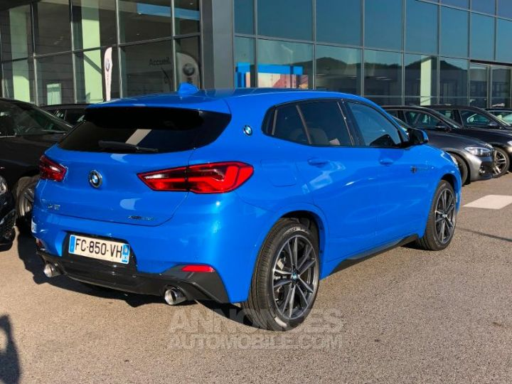 BMW X2 xDrive20dA 190ch M Sport Misano Blau metallise Occasion - 4