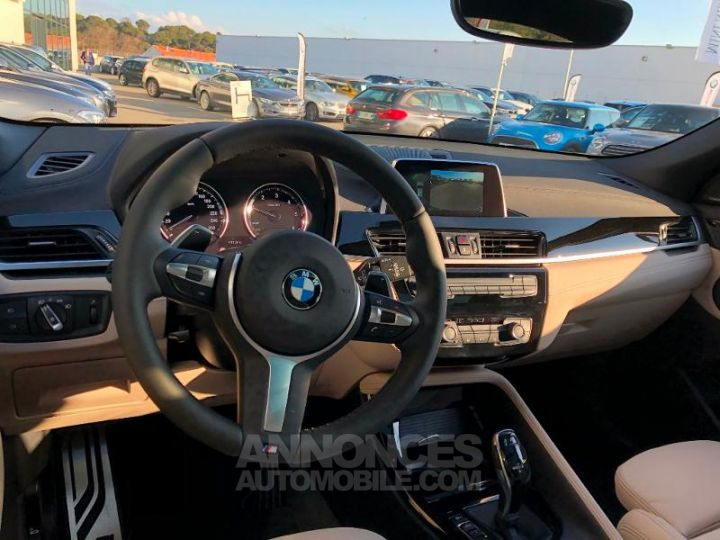 BMW X2 xDrive20dA 190ch M Sport Misano Blau metallise Occasion - 6