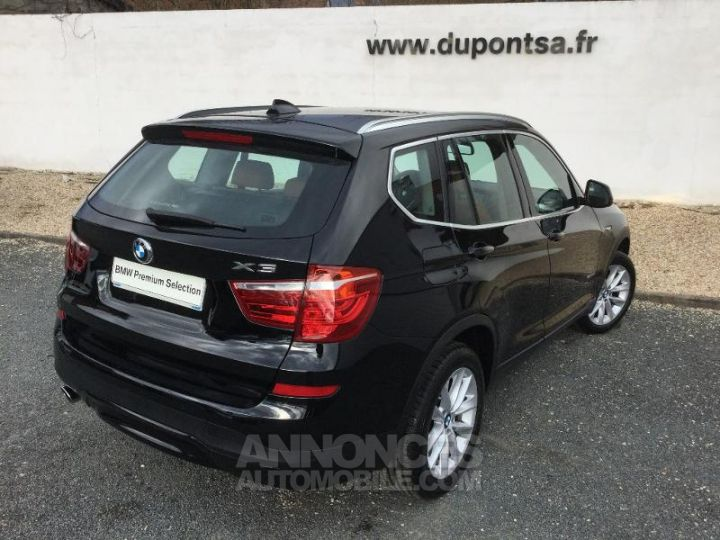 BMW X3 sDrive18dA 150ch Lounge Plus NOIR Occasion - 2