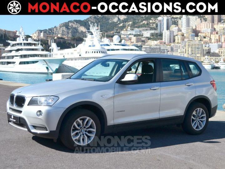 BMW X3 xDrive20dA 184ch Excellis Argent Occasion - 1