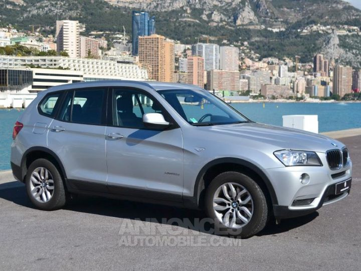 BMW X3 xDrive20dA 184ch Excellis Argent Occasion - 3