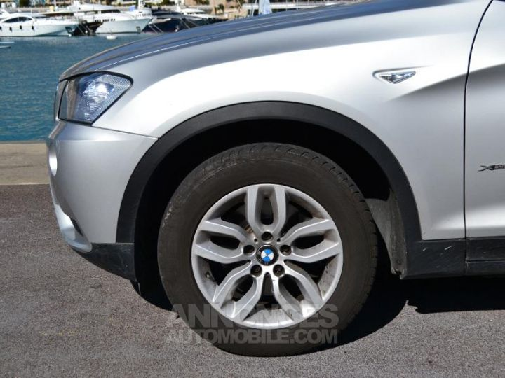 BMW X3 xDrive20dA 184ch Excellis Argent Occasion - 7