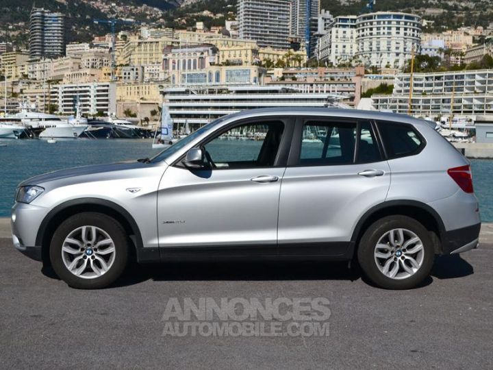 BMW X3 xDrive20dA 184ch Excellis Argent Occasion - 8