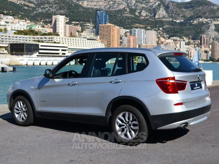 BMW X3 xDrive20dA 184ch Excellis Argent Occasion - 9