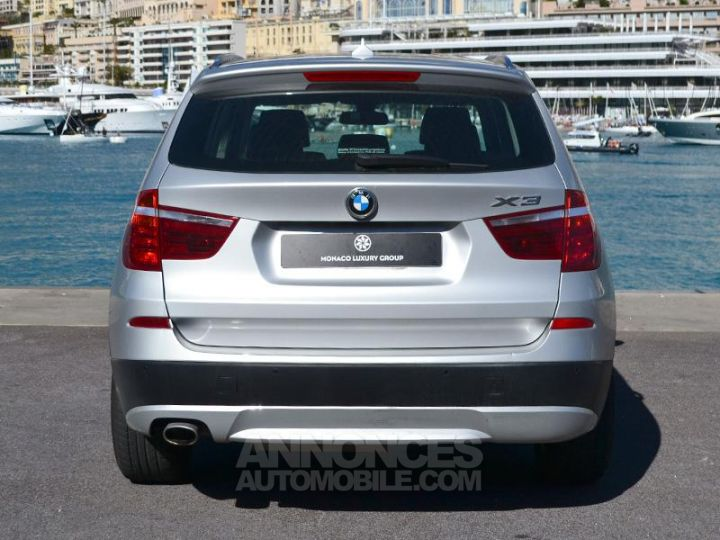 BMW X3 xDrive20dA 184ch Excellis Argent Occasion - 10