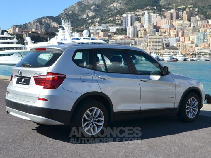 BMW X3 xDrive20dA 184ch Excellis Argent Occasion - 11