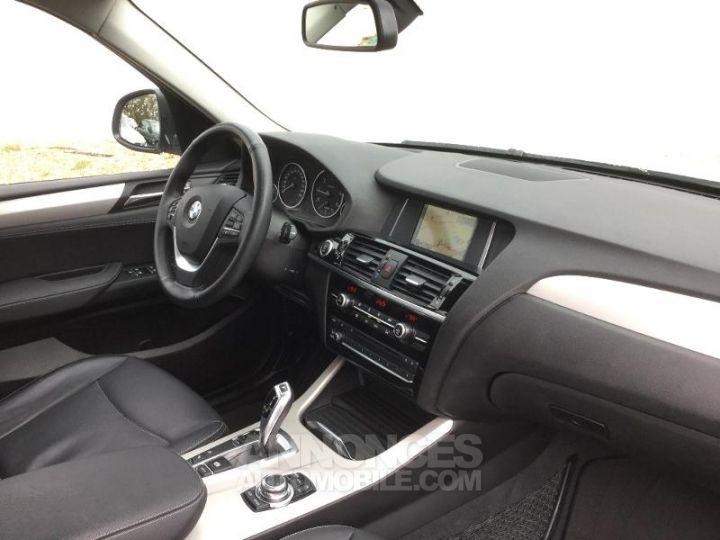 BMW X3 xDrive20dA 190ch Lounge Plus BLANC Occasion - 3